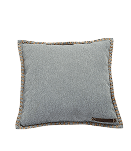 Grey Colored Frabric Pillow