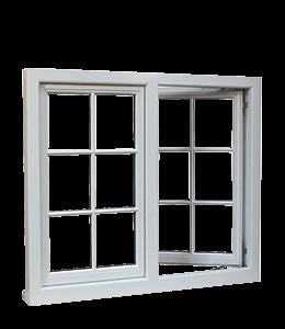 Grey Colored Window