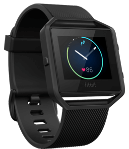 Gunmetal colored smart watch