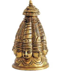Indian brass idol