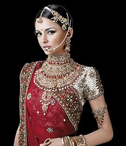Indian Bride in wedding Saree