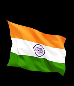 Indian Tri-color Flag