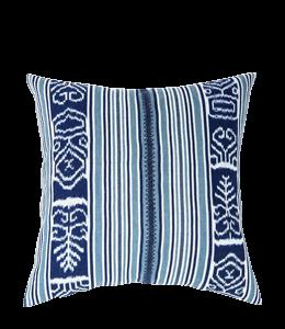 Indigo colored pillow