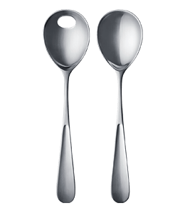 Matte Finished Silver Spoons
