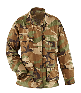 Military Camouflage Battle Dress