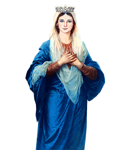 Mother Mary with Jesus Christ