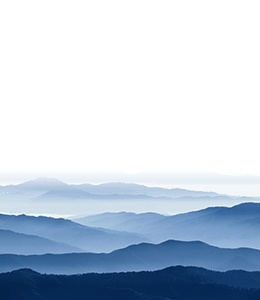 Mountains in a distance