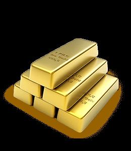 New Gold bars