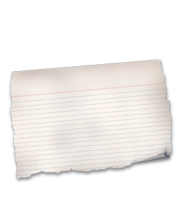 Old Scrap paper