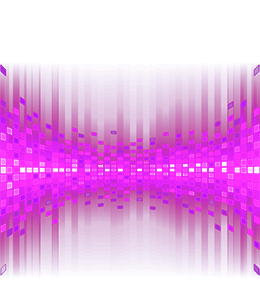 Particle background light effect