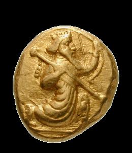 Persian gold coin