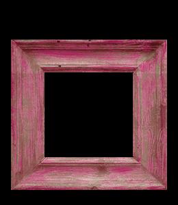 Pink photo frame