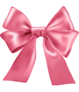 Pink colored ribbon