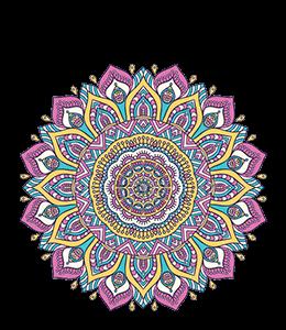 Pretty mandala design