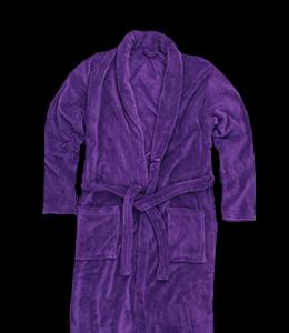 Purple Colored Ritch Bathrobe