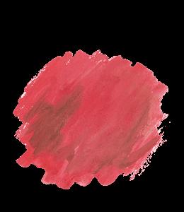 Red watercolor graffiti