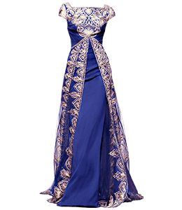 Royal Blue Fashion Gown