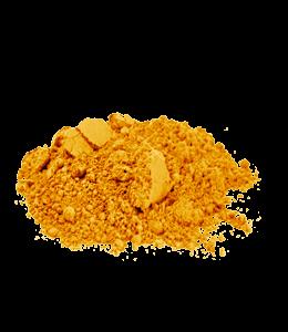 Saffron color powder