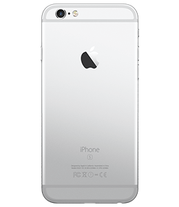 Silver iPhone Back
