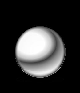 Silver Metal Ball