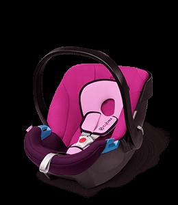 Telemagenta Colored Toddler Car Seat
