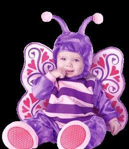 Toddler Violet Fancy Dress