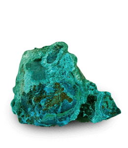 Tyrolite hydrated mineral