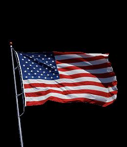 United States (US) flag