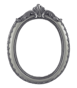 Vintage-style grey frame