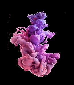 Violet Red Colored Paint - 3D art