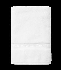 Soft white towel